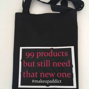 Exclusive Make Up logo tote bag