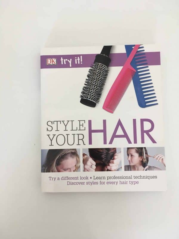 Style your hair -Try it!