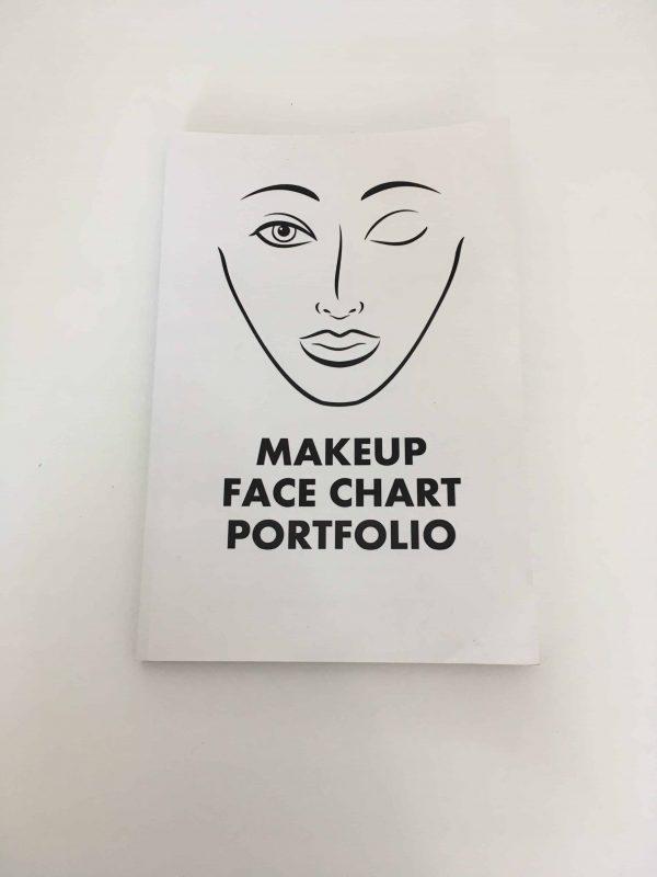 Face chart portfollio book