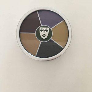 Kryolan  Cream Colour Circle -Black eye