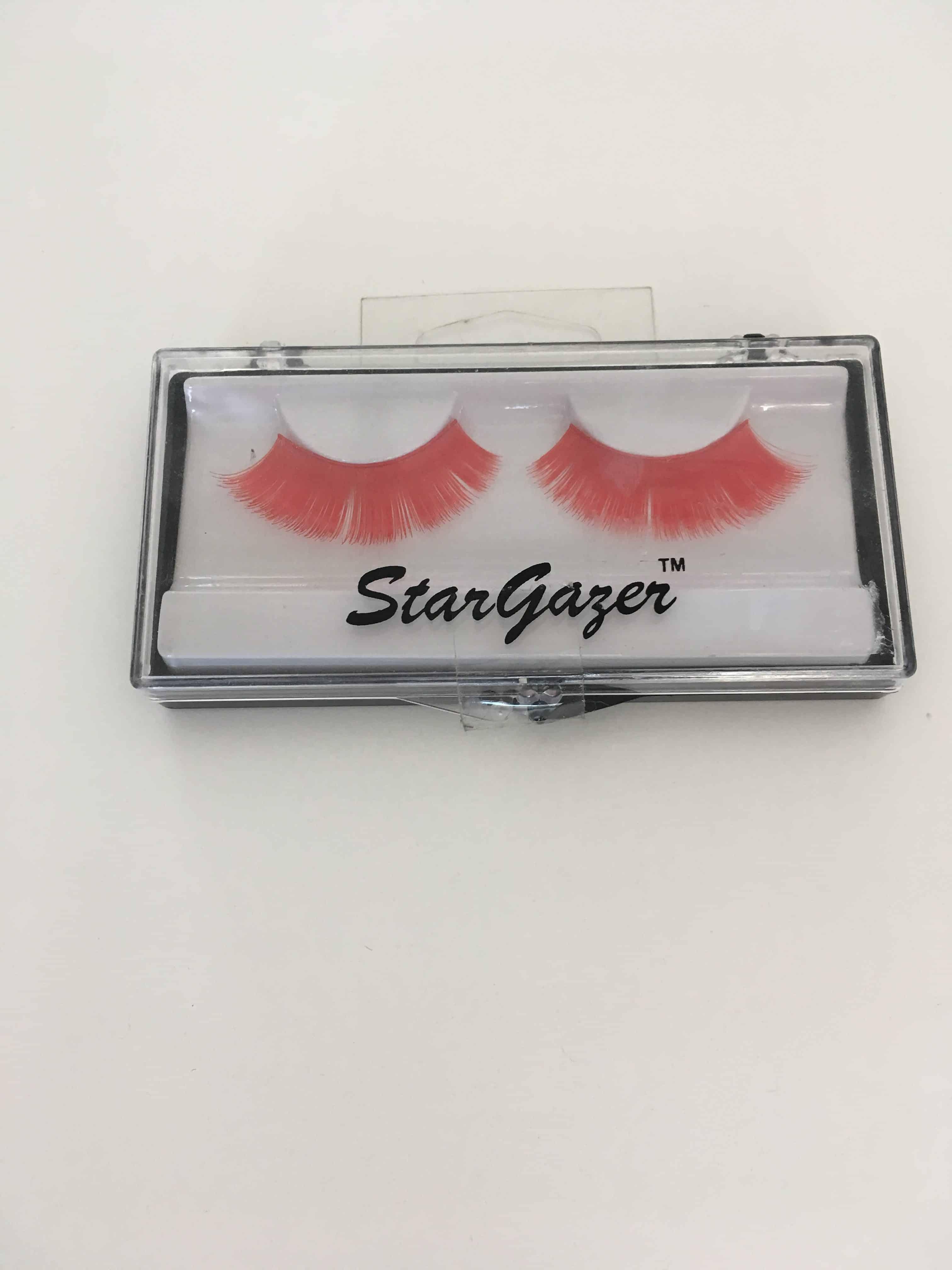 Stargazer false lashes-red