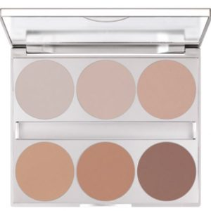 Kryolan Blot Powder Palette 6 Colours-Fab for shoots