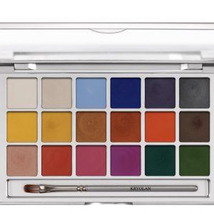 Kryolan Shimmering Vision Palette -New In!