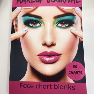 Make Up Journal -Face Chart blanks