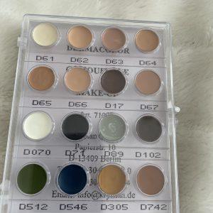 Derma Color Mini Palette 16  Colours-No.5-New In!