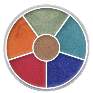 Cream Colour Circle -Interferenz-New In!