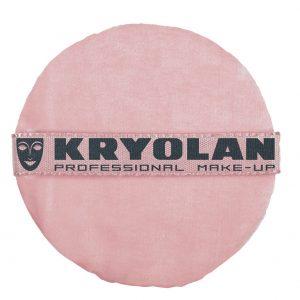 Kryolan Pink Powder Puff