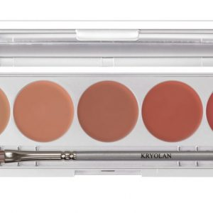 Kryolan lip rouge set 5 Colours-Nudes-New In!
